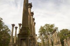 Arkitektur av Windsor Ruins Arkivfoton