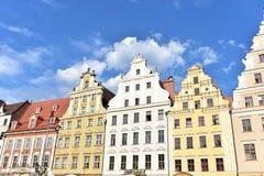 Arkitektur av Wroclaw royaltyfria bilder