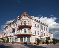 Arkitektur av Yevpatoria. Crimea. royaltyfri bild
