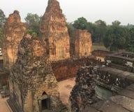arkitektur axeln Hinduisk tempel, Siem Reap, Cambodja royaltyfria bilder