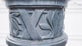 arkitektur bak den klassiska detaljen pillows sikt Arkivfoto