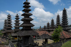 arkitektur bali indonesia Arkivbild