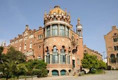 arkitektur barcelona spain Arkivfoton