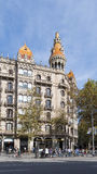 arkitektur barcelona spain Royaltyfria Foton