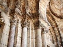 Arkitektur Basilique du Sacré CÅur paris Royaltyfri Bild