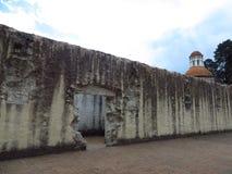 Arkitektur berättar av lejonen, México Royaltyfri Bild
