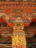 arkitektur bhutan Arkivfoton