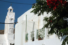 arkitektur blommar grek Arkivfoto