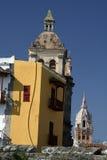 arkitektur cartagena colombia de indias arkivfoton