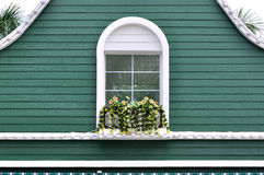 arkitektur dekorerad green Royaltyfria Bilder