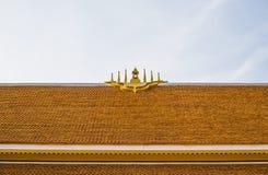 Arkitektur för buddistisk tempel för tak Royaltyfria Bilder