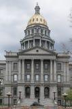 Arkitektur för Colorado tillståndsKapitolium Royaltyfria Foton