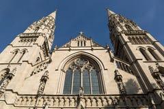 Arkitektur för kristen kyrka arkivbilder