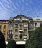 Arkitektur för Timisoara revolutionfyrkant Arkivbilder