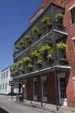 Arkitektur: Fransk fjärdedel - New Orleans royaltyfri bild