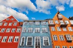 arkitektur gammala copenhagen Royaltyfria Bilder