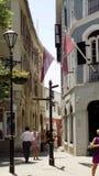 Arkitektur generiska typiska gata-Gibraltar Royaltyfri Bild