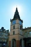 Arkitektur Glasgow, Skottland: den Tron kyrktorn Royaltyfri Fotografi