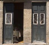 Arkitektur Guimaraes Portugal Arkivbild