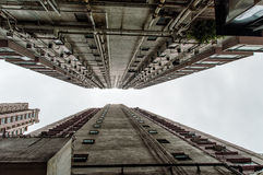 arkitektur Hong Kong Arkivfoton