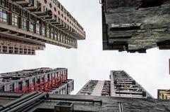 arkitektur Hong Kong Royaltyfria Bilder