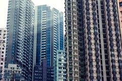 arkitektur Hong Kong Royaltyfri Bild