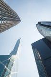 arkitektur Hong Kong Arkivbilder