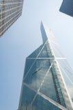 arkitektur Hong Kong Arkivfoto