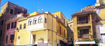 arkitektur houses den venetian italienska ljusa slotten Stilfull stuga Fotografering för Bildbyråer