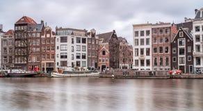 Arkitektur i Amsterdam Arkivfoto