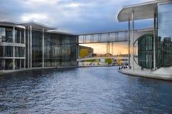 Arkitektur i Berlin Arkivbild