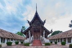 Arkitektur i Chiang Mai Arkivbild