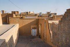 Arkitektur i den Kashan staden, Iran Arkivbilder