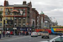 Arkitektur i Dublin, Irland fotografering för bildbyråer