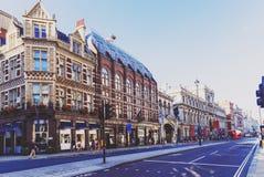 Arkitektur i gata för London ` s Piccadilly Arkivfoto