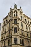 Arkitektur i gatorna av Prague Royaltyfria Bilder