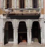 Arkitektur i Havana Cuba Arkivfoton