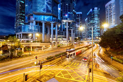 Arkitektur i Hong Kong Royaltyfri Bild