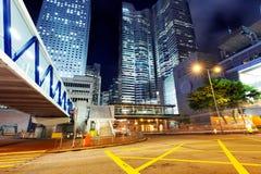 Arkitektur i Hong Kong Royaltyfria Bilder
