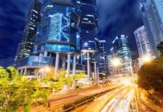 Arkitektur i Hong Kong Royaltyfri Foto