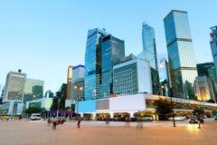 Arkitektur i Hong Kong Fotografering för Bildbyråer