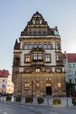 Arkitektur i Legnica poland royaltyfri bild