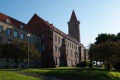 Arkitektur i Legnica poland Arkivbild