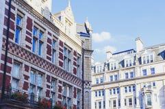 Arkitektur i London stadsmitt Arkivbilder