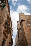 Arkitektur i Mdina, Malta Royaltyfria Bilder