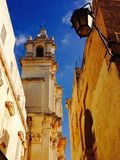Arkitektur i Mdina Malta Royaltyfria Foton