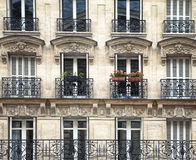 Arkitektur i Paris Arkivfoto