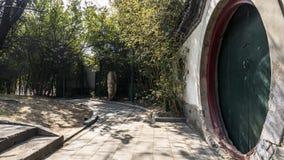 Arkitektur i Peking Arkivfoto