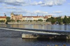 Arkitektur i Prague Arkivfoton