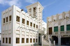 Arkitektur i Souq Waqif Qatar Fotografering för Bildbyråer